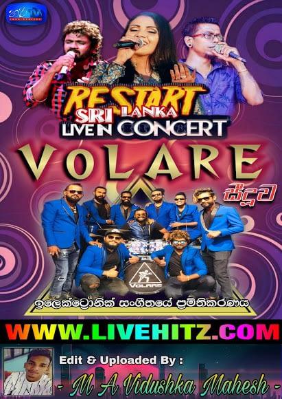RESTART SRI LANKA LIVE IN CONCERT WITH VOLARE 2020