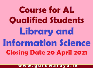 Course : Library and Information Science