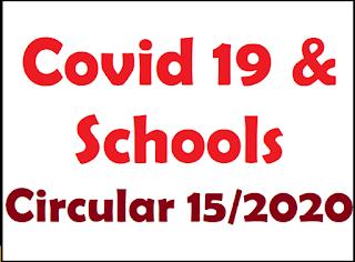 Schools should follow 15/2020 Circular : Education ministry