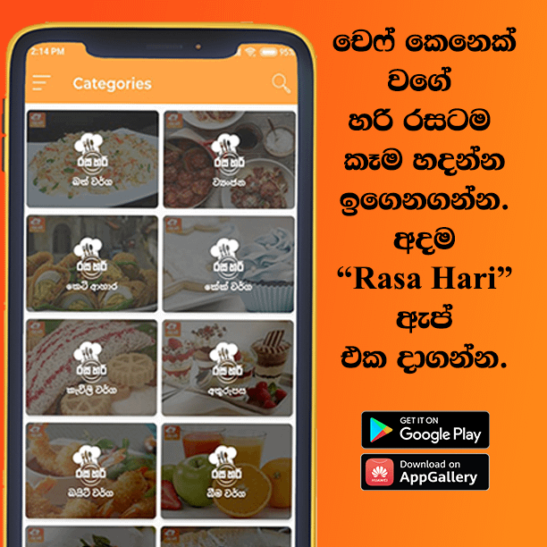 Rasa Hari - Best Sri Lanka Sinhala Recipe