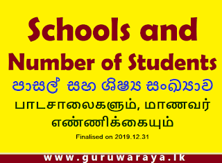 No of Students by Government Schools