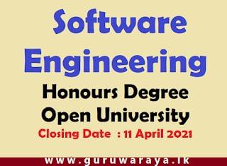 Bachelor of Software Engineering Honours Degree : Open University