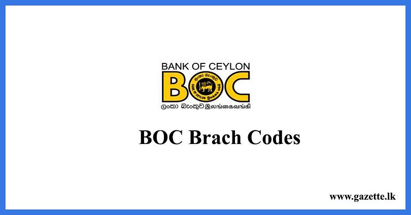 BOC-Brach-Codes