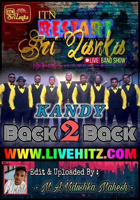 ITN RESTART SRI LANKA LIVE BAND SHOW WITH BACK TO BACK 2020
